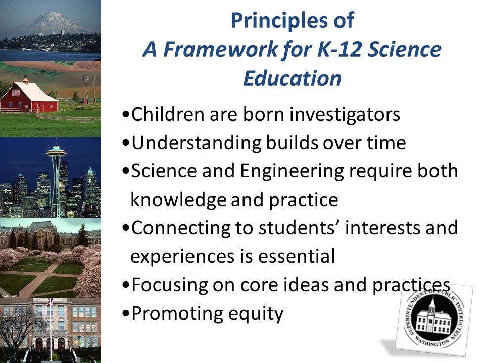 Principles of A Framework for K-12 Science Education