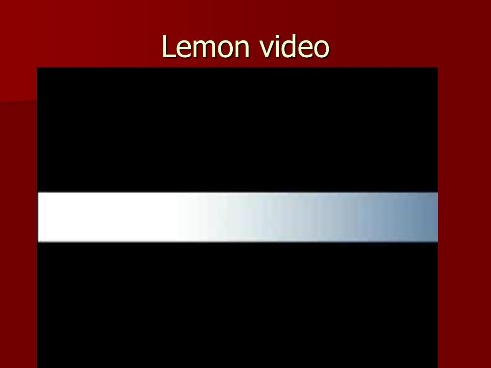 Lemon video