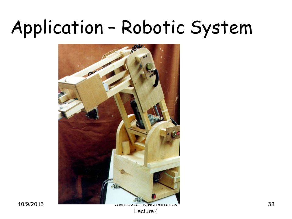 Application – Robotic System