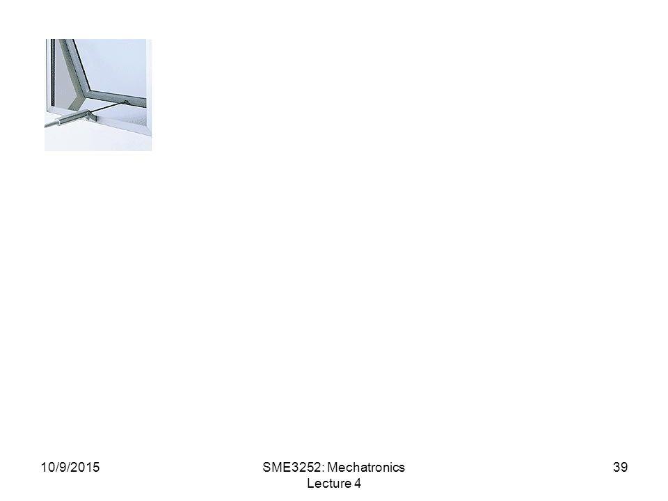 SME3252: Mechatronics Lecture 4