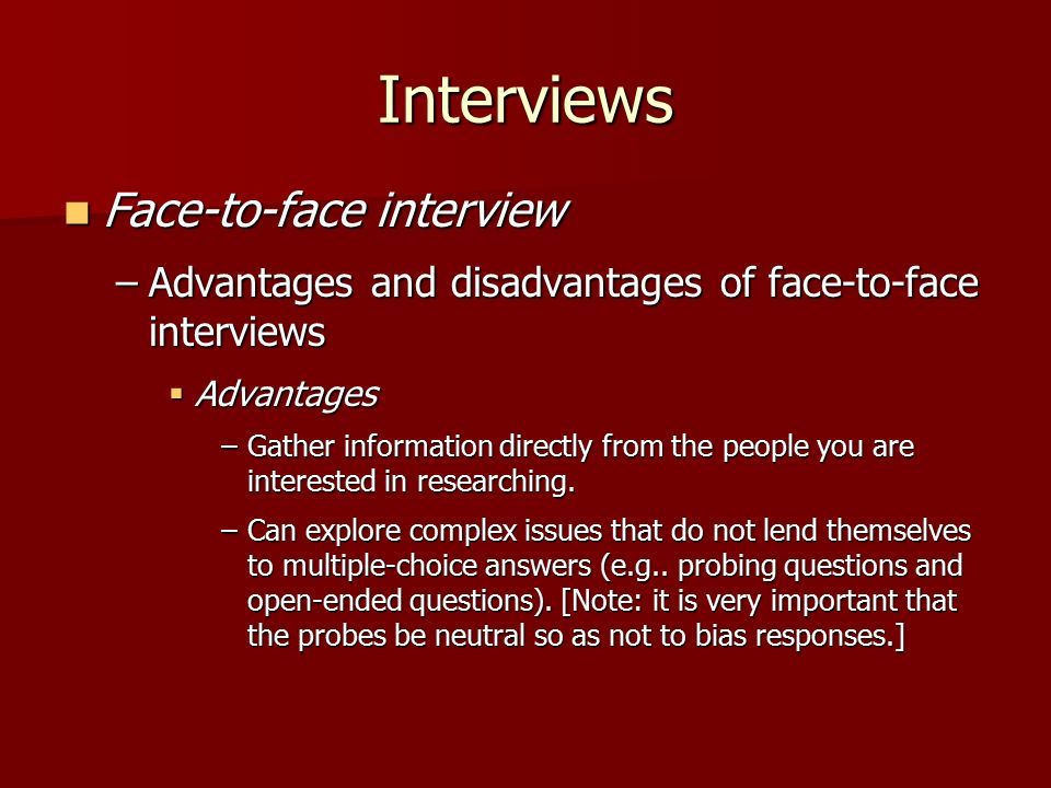 not in the face interview Bauer college of business, says that while students typically dress professionally before face-to-face interviews, they tend to slack off during video chats she says the standards are the same.