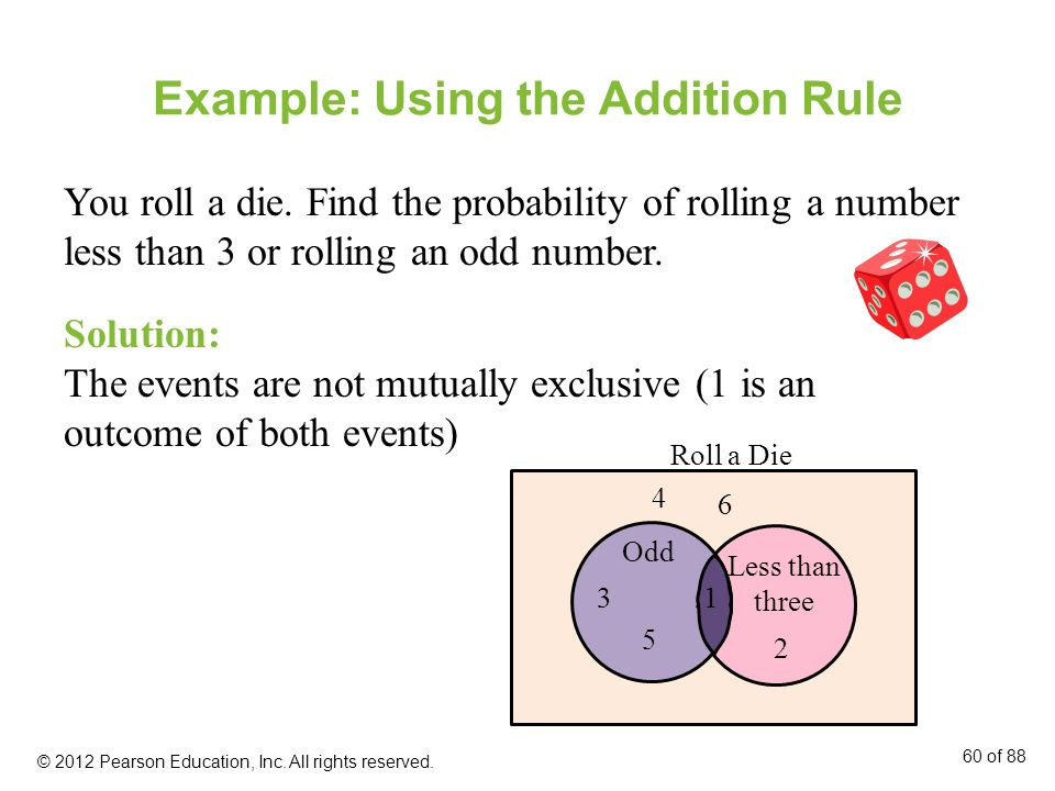 Example: Using the Addition Rule