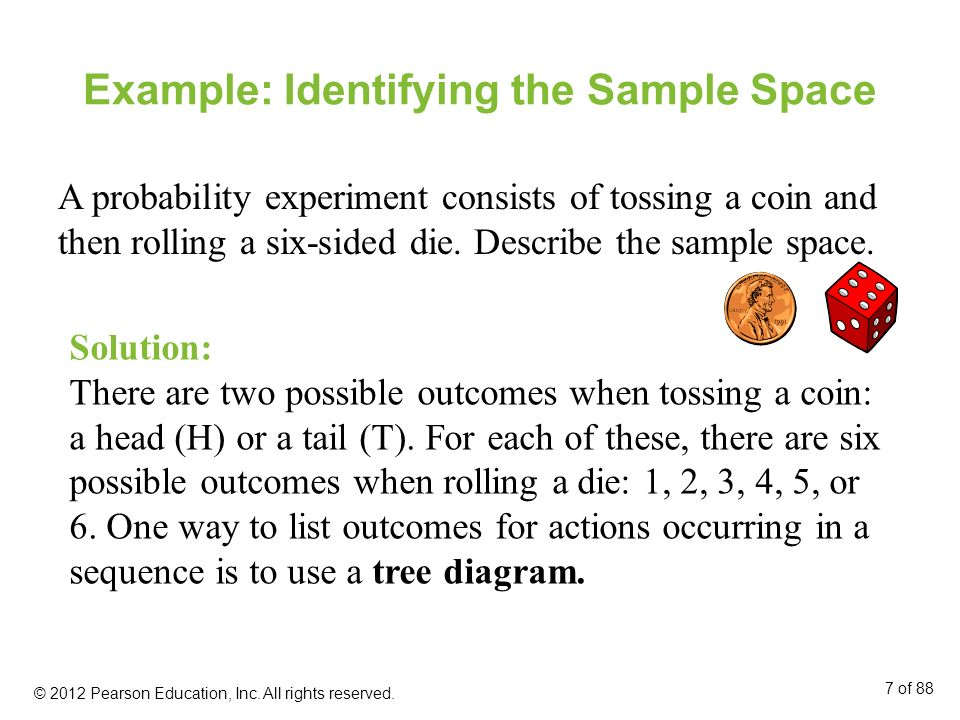 Example: Identifying the Sample Space