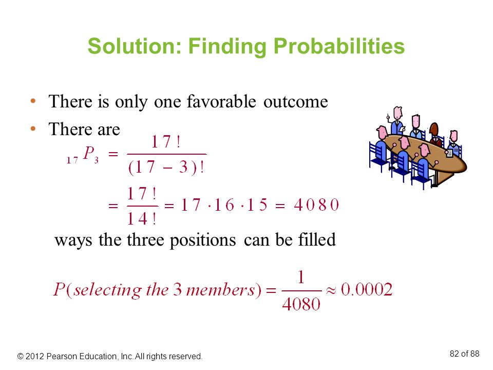 Solution: Finding Probabilities