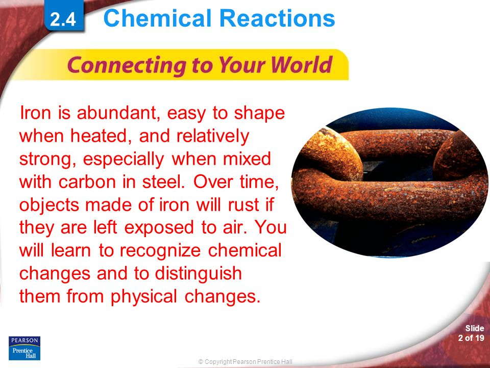 Chemical Reactions 2.4.