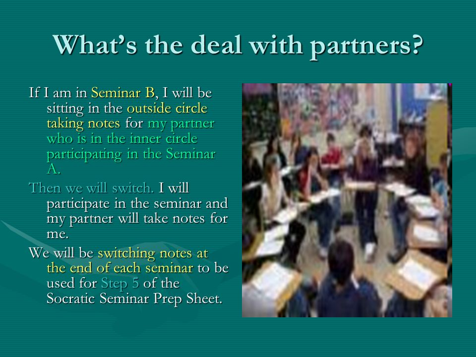 What's the deal with partners