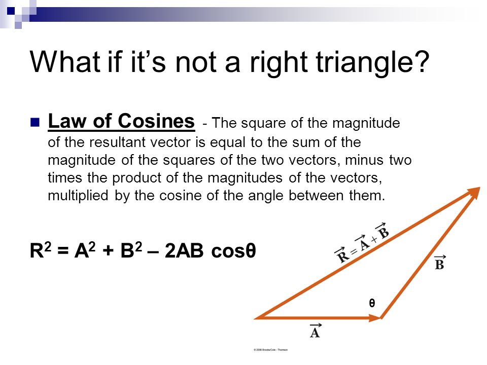 What if it's not a right triangle
