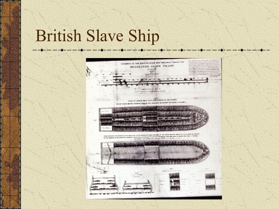 British Slave Ship