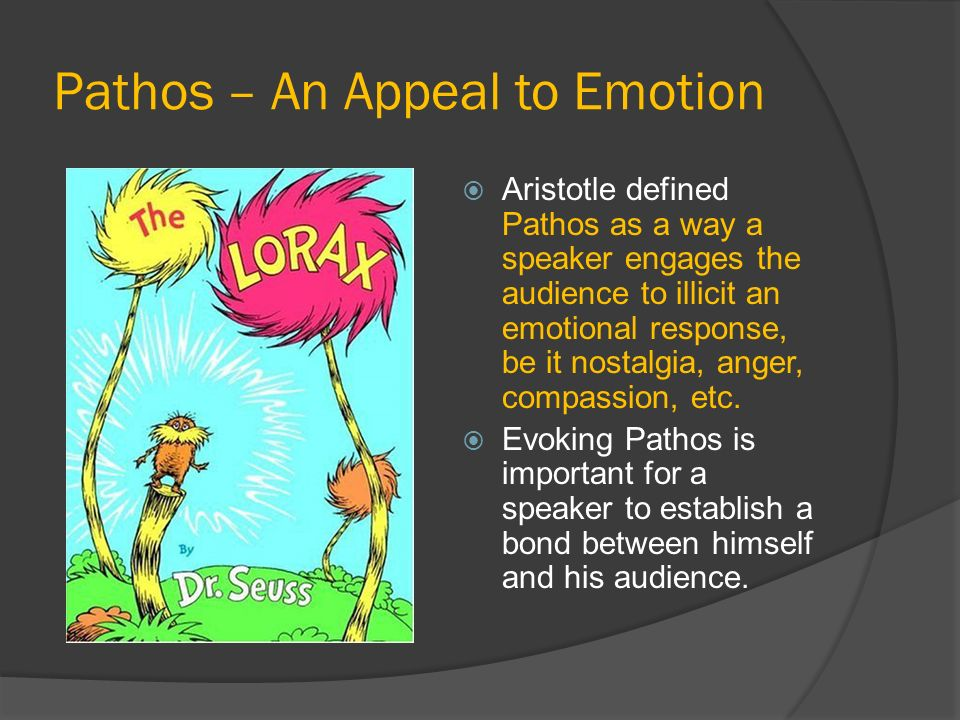 Pathos – An Appeal to Emotion