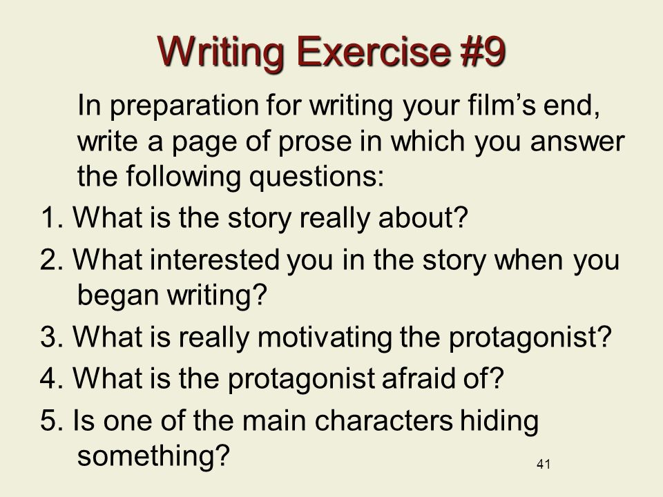 writing and exercise A written exercise during a job interview can consist of multiple components, including answering an essay question, drafting a sample press release and completing data analysis in paragraph form.