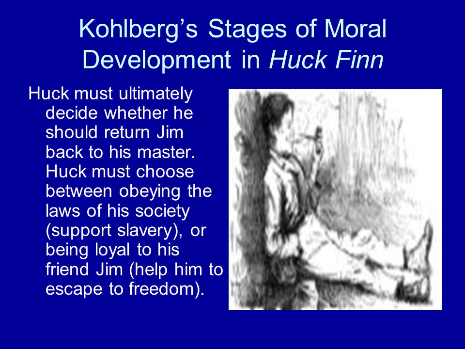 the moral development and dilemmas of huckleberry finn The adventures of huckleberry finn by  personal development poetry  it offers both brilliant humor and tragedy as huck and jim explore moral dilemmas of.