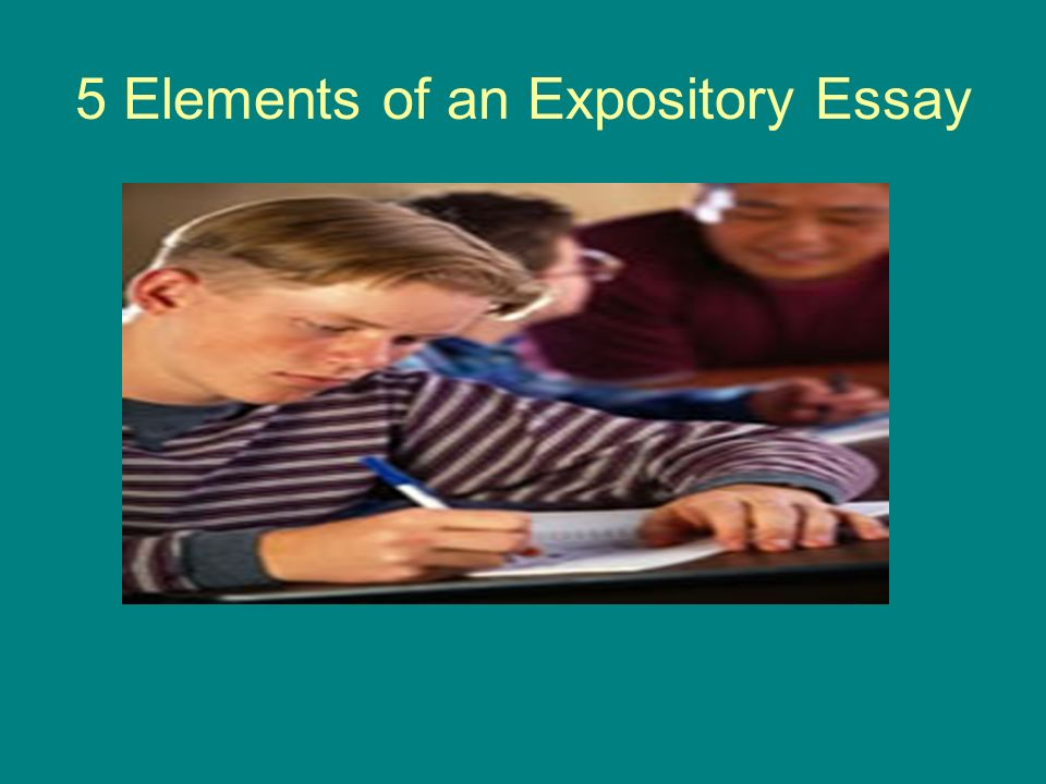 5 Elements of an Expository Essay