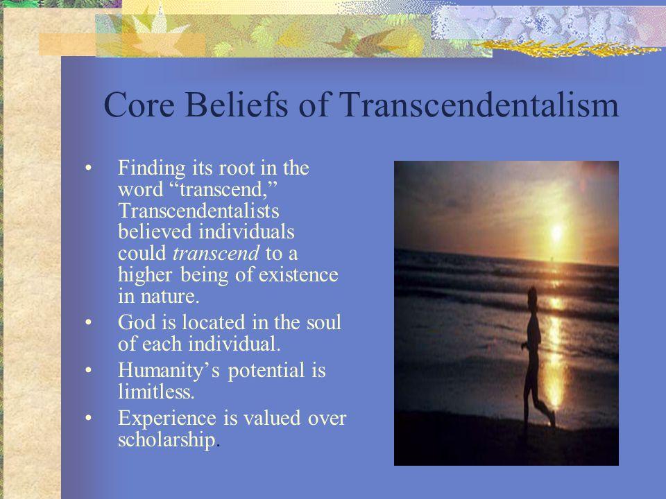 Core Beliefs of Transcendentalism