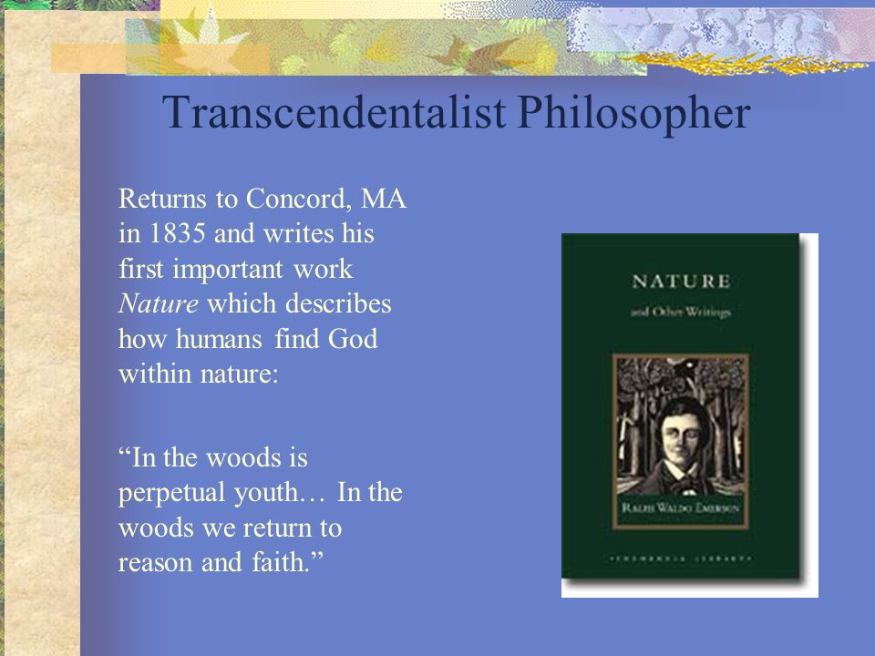 Transcendentalist Philosopher