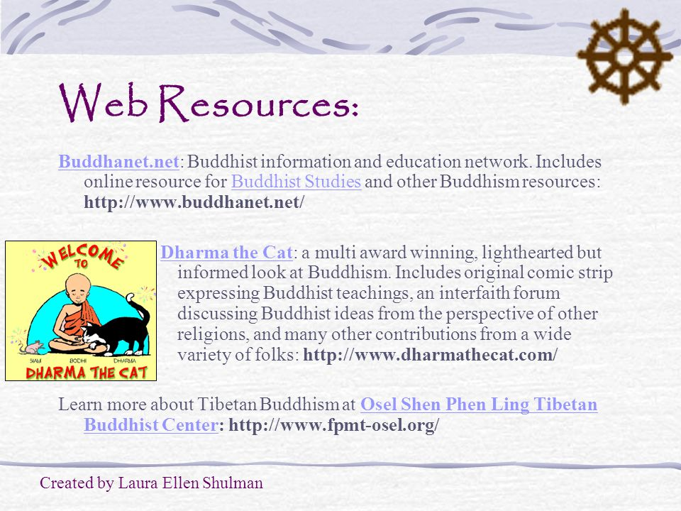 Web Resources: