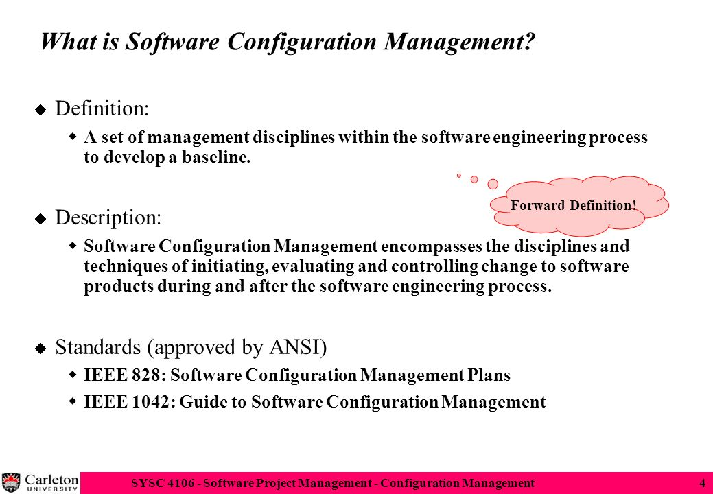 Software configuration management ppt download what is software configuration management ccuart Image collections