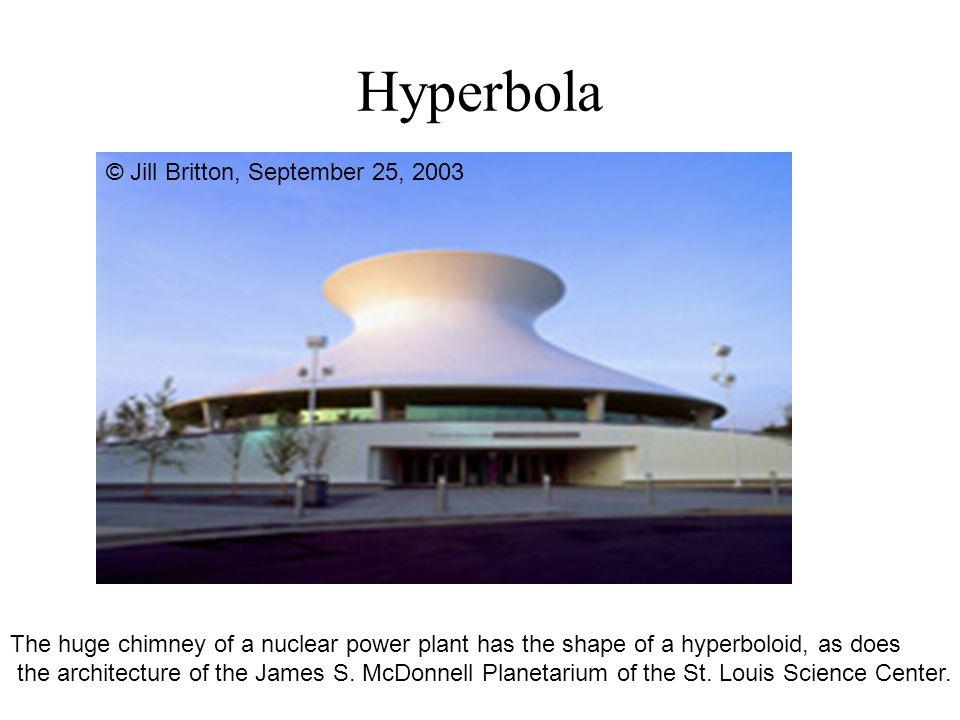 Hyperbola © Jill Britton, September 25, 2003