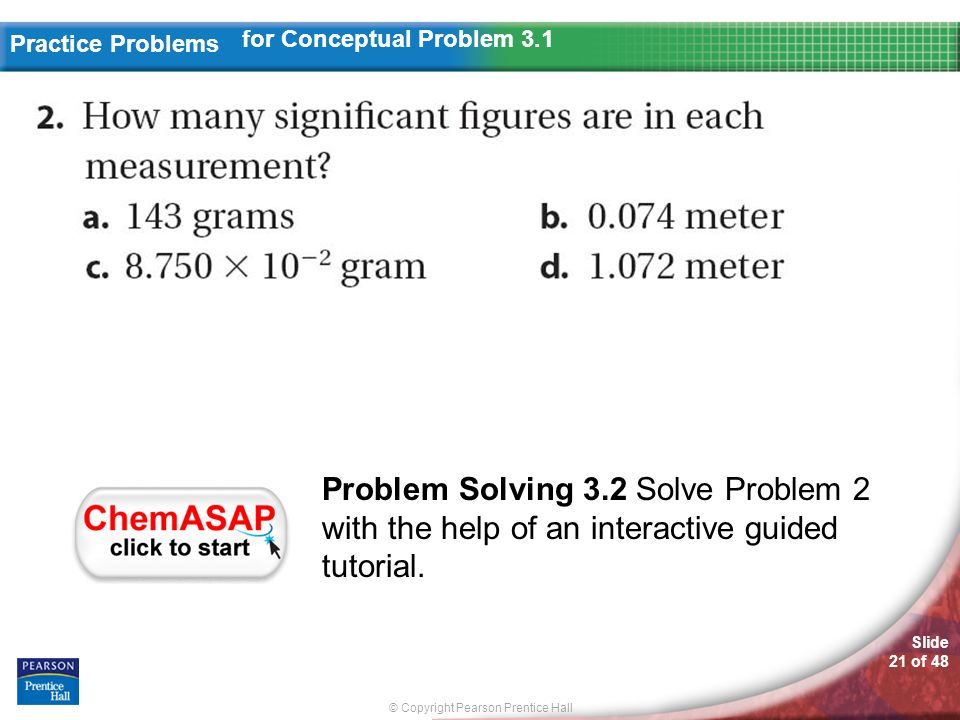 for Conceptual Problem 3.1