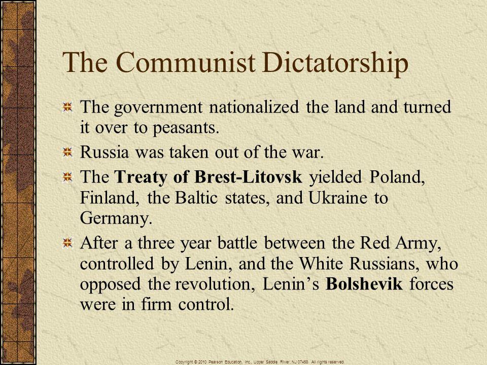 The Communist Dictatorship