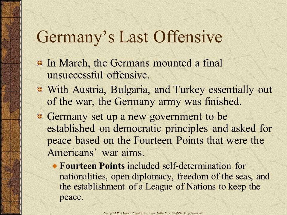 Germany's Last Offensive