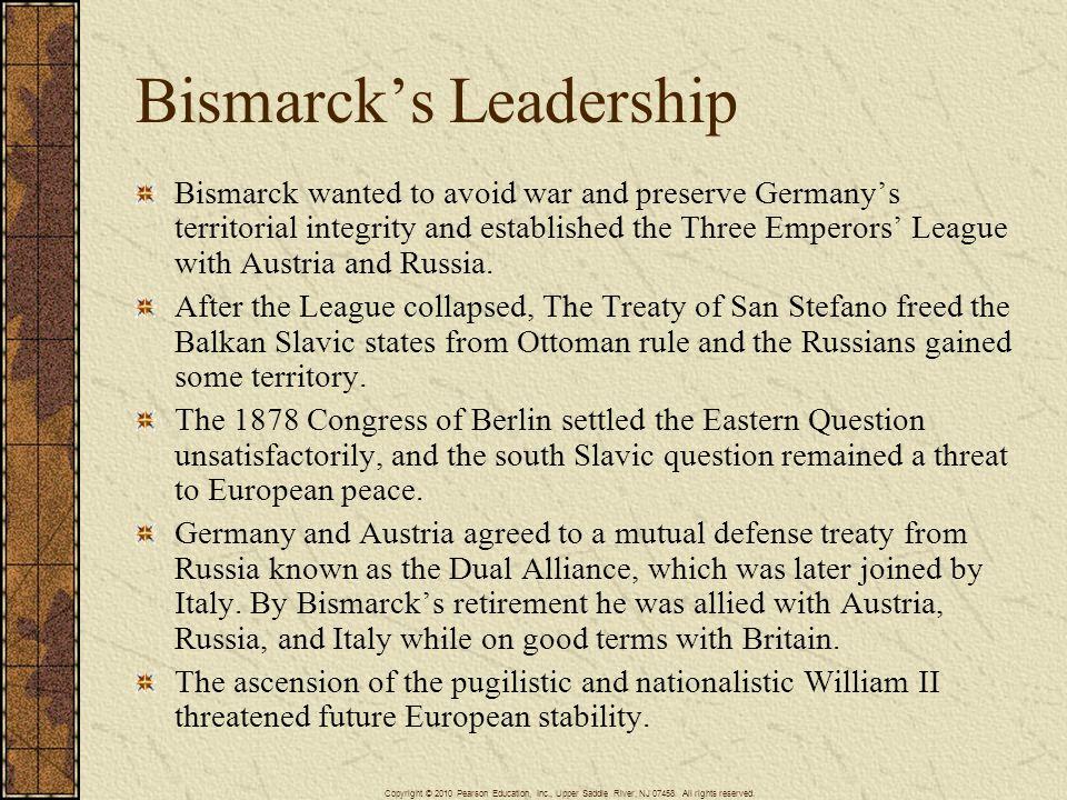 Bismarck's Leadership