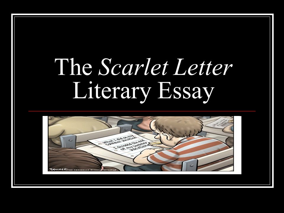 Proposal Essay Ideas  Essay About Motivation also Scientific Essay Topics The Scarlet Letter Literary Essay  Ppt Video Online Download Buy Essays