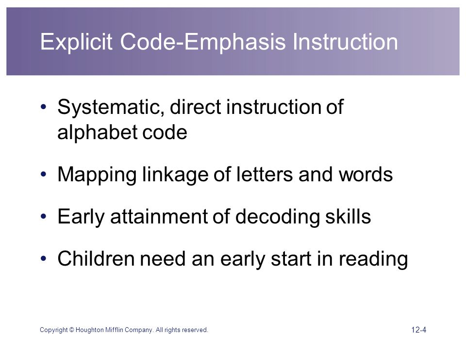 direct systematic phonics instruction