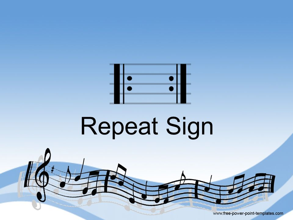Repeat Sign