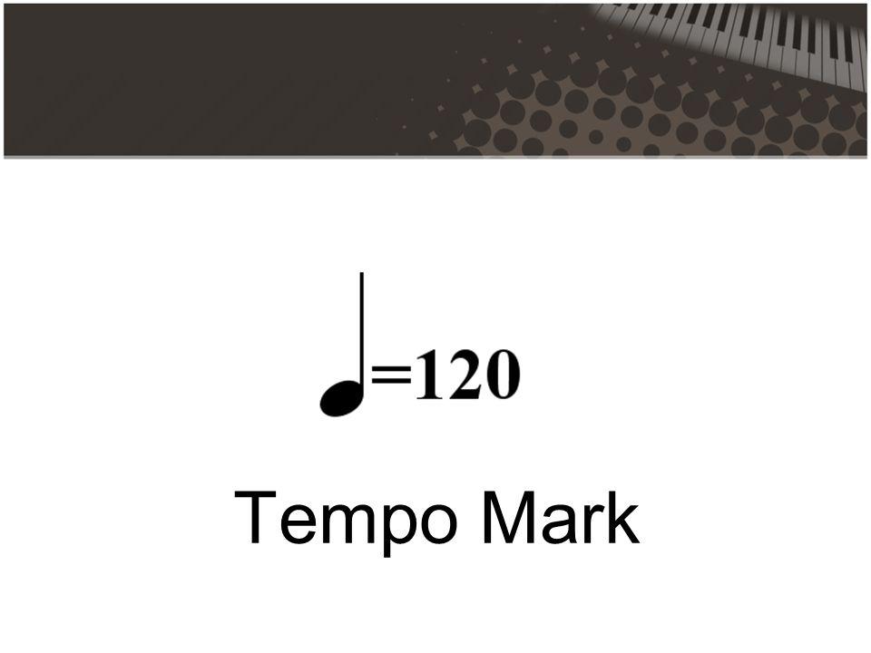 Tempo Mark