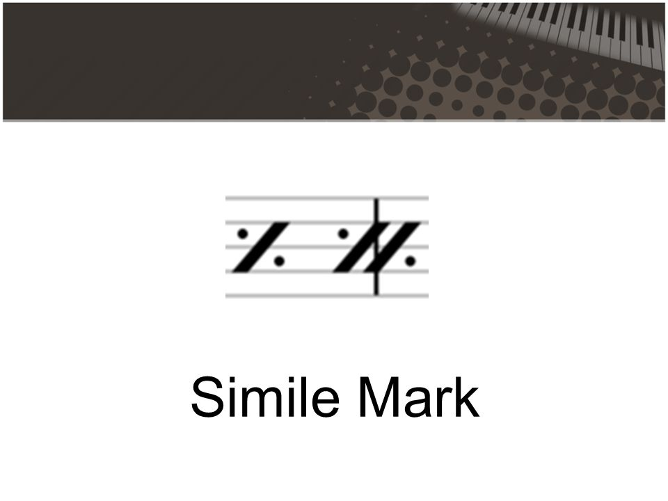 Simile Mark