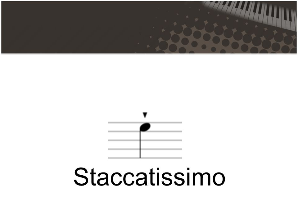 Staccatissimo