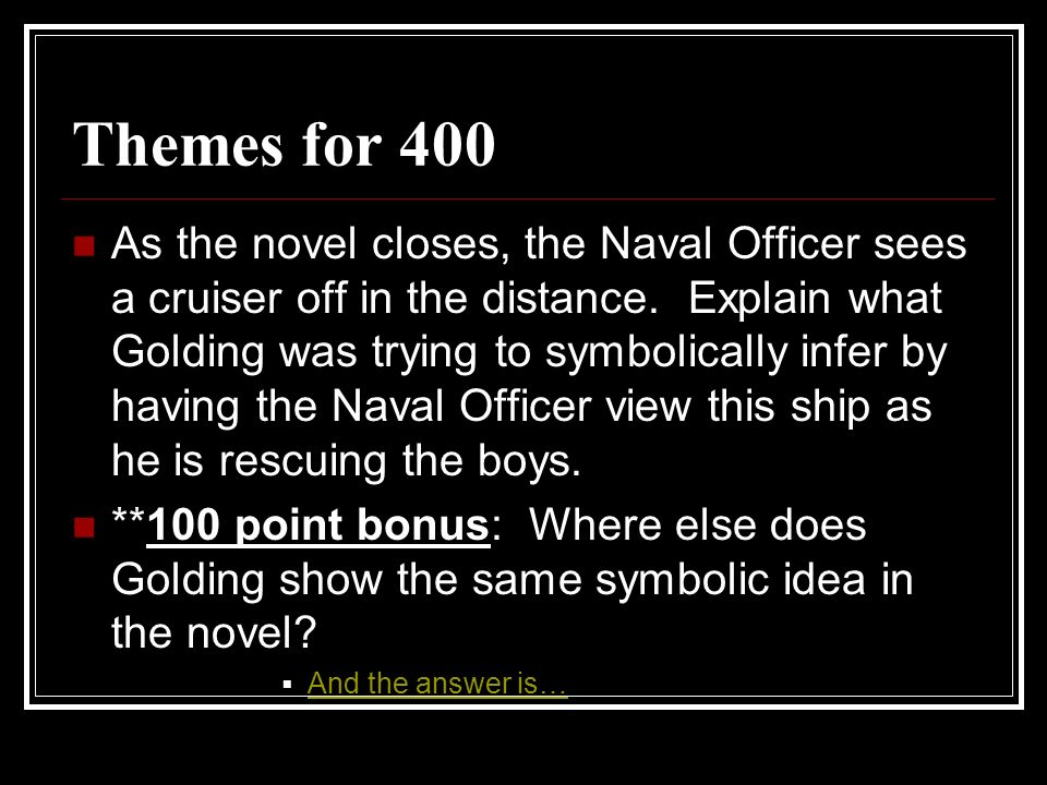 Themes for 400