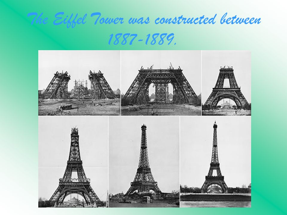 Image result for the eiffel tower in 1889