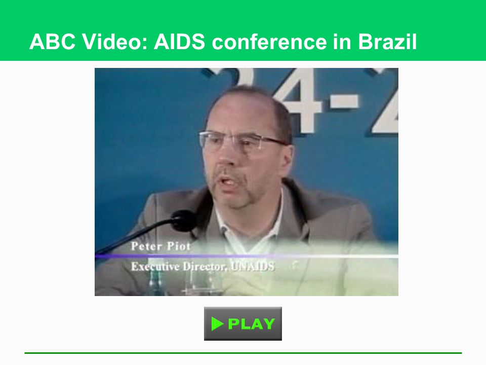 ABC Video: AIDS conference in Brazil