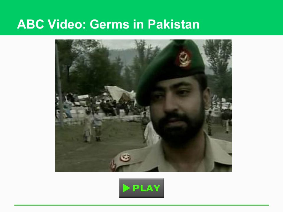 ABC Video: Germs in Pakistan