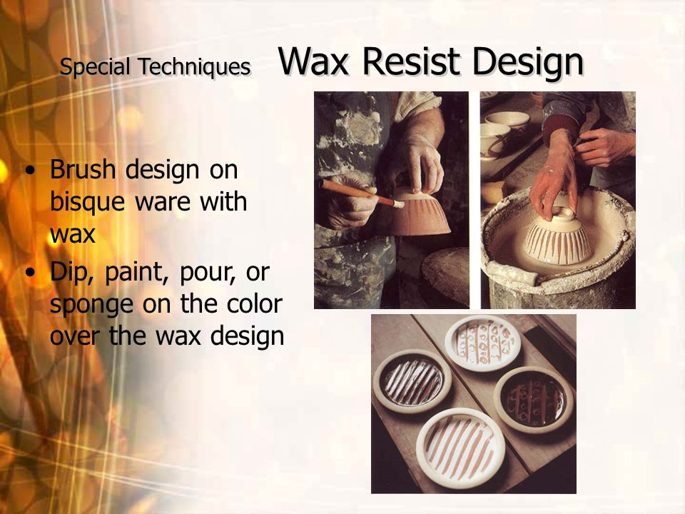 Special Techniques Wax Resist Design