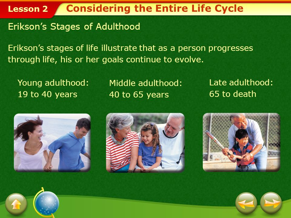 Considering the Entire Life Cycle