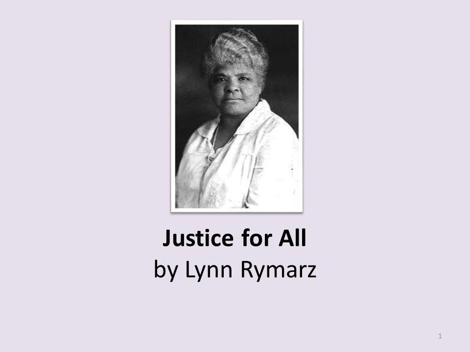 Justice for All by Lynn Rymarz