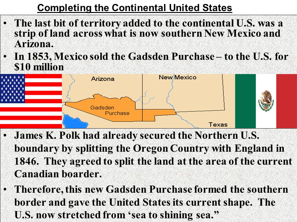 After The War Ch Part Ppt Download - Is new mexico part of the united states