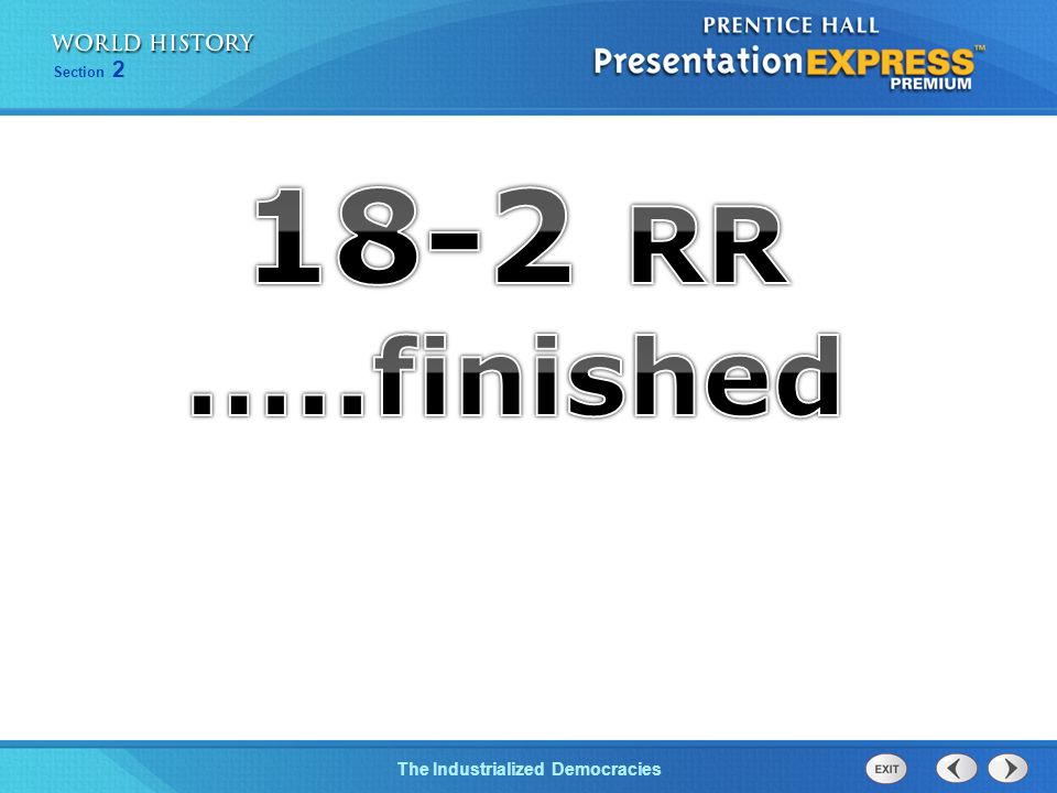 18-2 RR …..finished