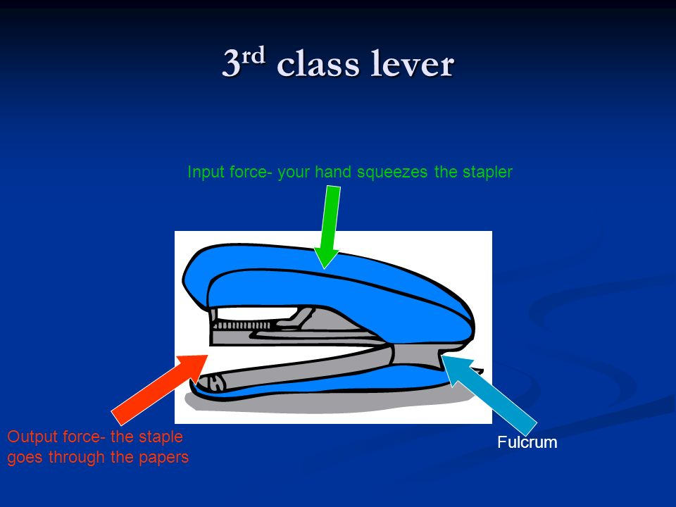 Lever Input And Output Force : Simple machines guided notes ppt video online