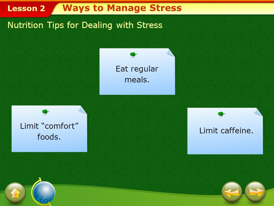 Ways to Manage Stress Nutrition Tips for Dealing with Stress