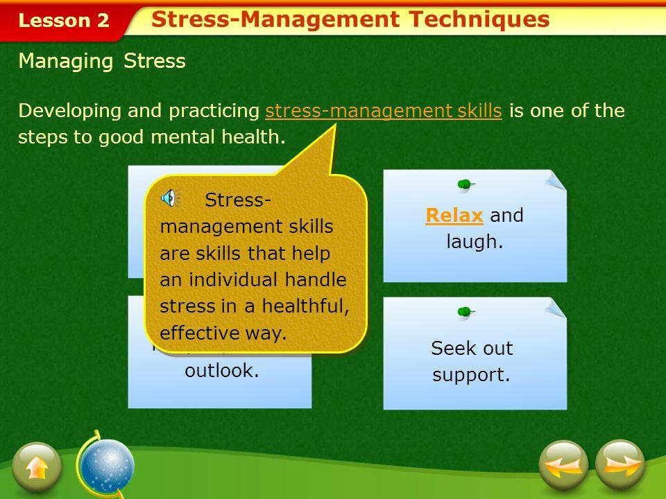 Stress-Management Techniques