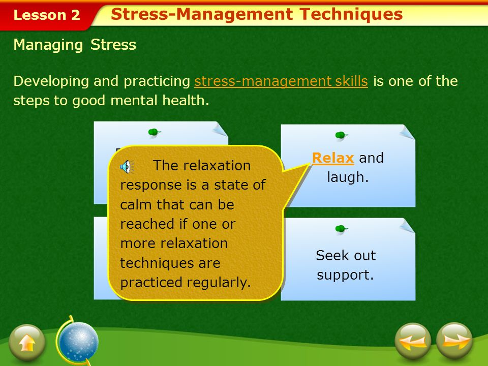 Stress-Management Techniques