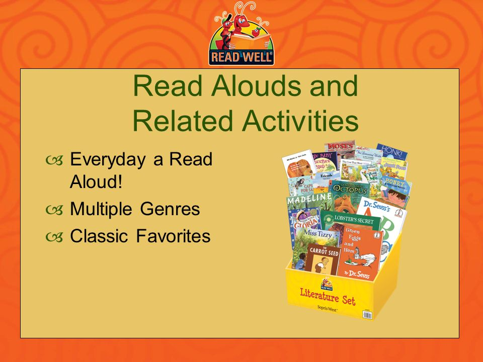 Read Alouds and Related Activities