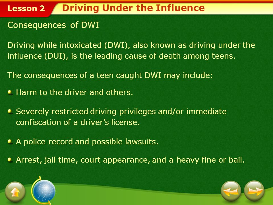 the consequences of driving under the influence dui Although past campaigns have greatly increased knowledge about the legal consequences of driving for driving under the influence (dui) safety administration.