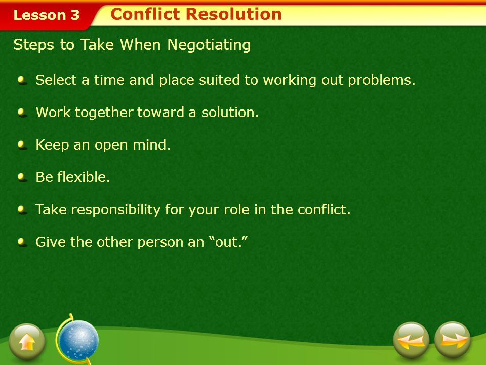 Conflict Resolution Steps to Take When Negotiating