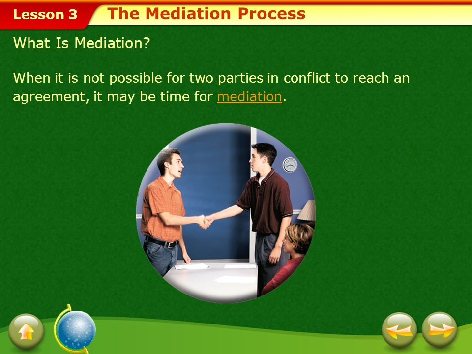 The Mediation Process What Is Mediation