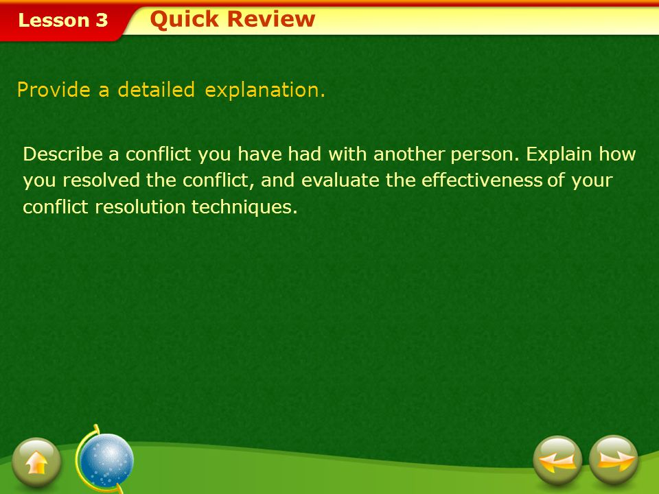 Quick Review Provide a detailed explanation.