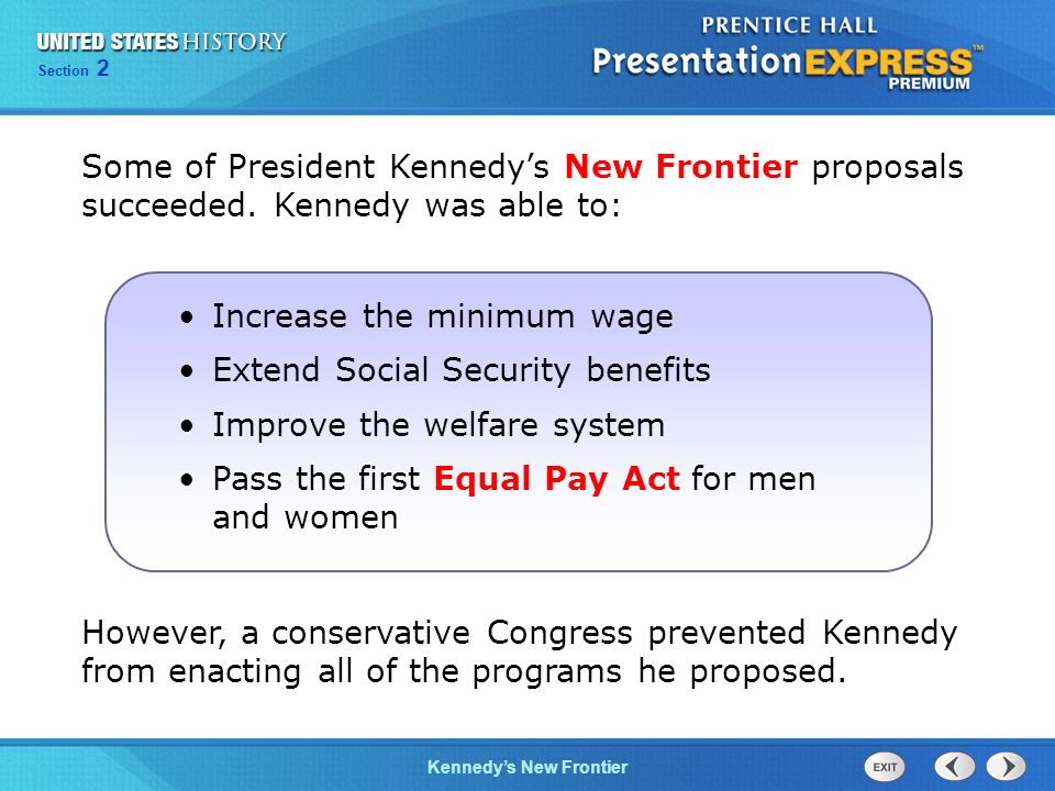 Increase the minimum wage Extend Social Security benefits